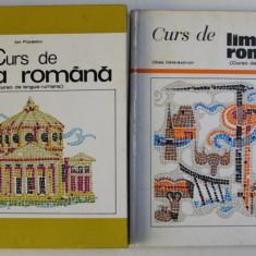 CURS DE LIMBA ROMANA - CURSO DE LENGUA RUMANA , PENTRU VORBITORII DE LIMBA SPANIOLA de OLTEA DELARASCRUCI si ION POPESCU , VOLUMELE I - II , CONTINE C