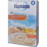 Cereale cu 5 cereale si banane Humana, 200 g, 6 luni+