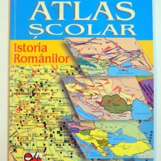 ATLAS SCOLAR , ISTORIA ROMANILOR de GABRIEL I. STAN , NICOLAE I. DITA , 2002