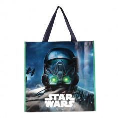 Shopping bag Star Wars albastra