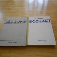 A. L. LEHNINGER--BIOCHIMIE - 2 VOL.