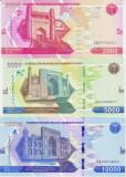 Bancnota Uzbekistan 2.000, 5.000 si 10.000 Som 2021 - PNew UNC ( set x3 )