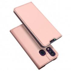 Husa Samsung Galaxy A40 - DUX DUCIS Book Type Rose Gold