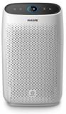 Purificator de aer Philips AC1214/10, Acoperire pana la 63 mp, Filtru HEPA, Nivel zgomot 62dB (Alb)
