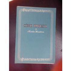 Cand iubesti - Nicolae Kirculescu (partitura si versuri)