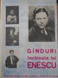 GANDURI INCHINATE LUI ENESCU-ANTOLOGIE DE VICTOR CRACIUN SI PETRE CODREA