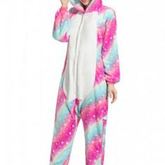 PJM161A-554 Pijama intreaga kigurumi, model unicorn
