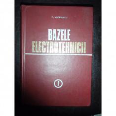 BAZELE ELECTROTEHNICII - PL. ANDRONESCU VOL.I