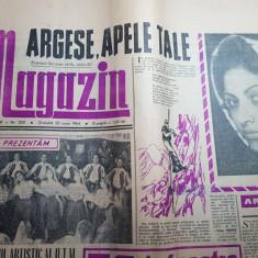 Magazin 20 iunie 1964-poezie despre raul arges,art. orasul constanta