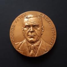 Medalie Petru Groza - Deva - Partidul comunist roman - PCR