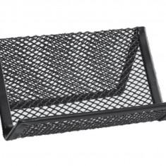 Suport metalic-pentru cărți de vizită negru