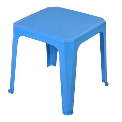 Masa din plastic pentru copii, 42 x 42 x 44 cm, Albastru foto