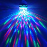 Cumpara ieftin Bec LED Rotativ, Party Light cu Senzor de Vibratii