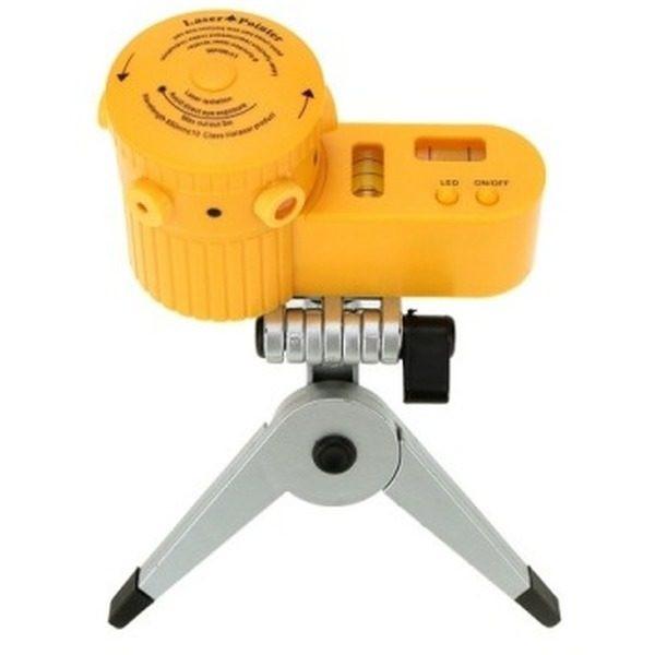 Nivela laser multifunctionala cu trepied LV-06, 50 m, LED