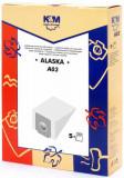 Sac aspirator Alaska VC 1400, hartie, 5 X saci, KM, K&m