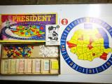 Joc de masă President anii '90, românesc, stil Monopoly.