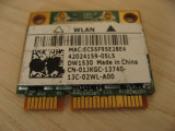 Placa wireless laptop Dell Latitude E6420, BCM943228HM4L, DW1530, 01JKGC