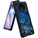 Cumpara ieftin Husa OnePlus 7T Ringke Fusion X Camo Negru