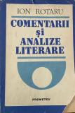 Comentarii si analize literare Ion Rotaru, Alta editura