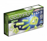 Cumpara ieftin Set de constructie magnetic Geomag, Glow, 22 piese fluorescente