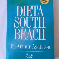 DIETA SOUTH BEACH Arthur Agatston Curtea Veche, 2007, nou