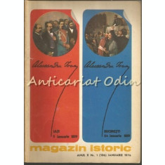 Magazin Istoric - Nr.: 1 Ianuarie 1976