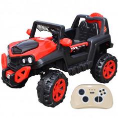 Jeep cu accumulator 12 V si 2 motoare