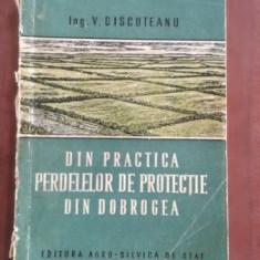 Din practica perdelelor de protectie din Dobrogea- V. Discuteanu