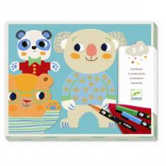 Atelier de desen pentru copii Djeco Cuties