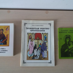 Literatura religioasa crestin-ortodoxa, 3 bucati la pret de una!