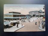 AKVDE20 - Carte postala - Vedere - Craiova - Deosebita - Piata noua si Palatul, Circulata, Printata