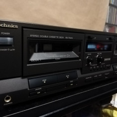 Stereo Casette Deck TECHNICS RS-TR212 - AutoReverse/Impecabil/made in Japan