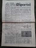 Ziarul Sportul din 26 mai 1982