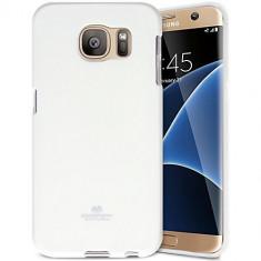 Husa Telefon Silicon Samsung Galaxy S7 Edge g935 White Mercury