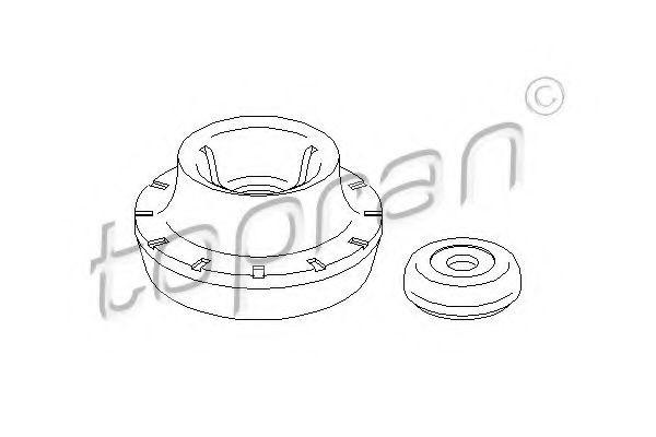 Rulment sarcina suport arc VW GOLF III Variant (1H5) (1993 - 1999) TOPRAN 108 557