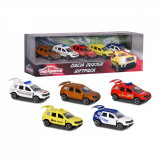 Set 5 masinute de metal Majorette Dacia Duster