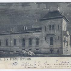 853 - TURNU SEVERIN, Carol Ave. Litho, Romania - old postcard - used - 1899, Circulata, Printata