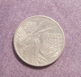 AFRICA CENTRALA 500 FRANCI 1976