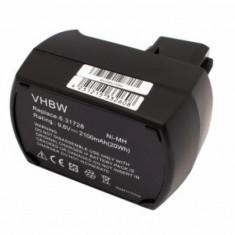 Acumulator pentru metabo wie 6.25471 u.a. 9.6v, ni-mh, 2100mah, 6.25471.00, 6.31775