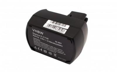 Acumulator pentru metabo wie 6.25471 u.a. 9.6v, ni-mh, 2100mah foto