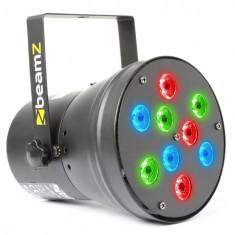 Beamz BEAM Z LED PAR36 Spot, LED efect de lumină, 9X 1W DMX