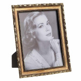 Rama foto din rasina Vintage Golden 13 cm x 18 cm