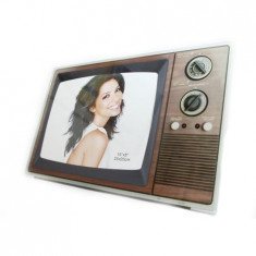 Rama foto, model televizor vintage 25x20 cm