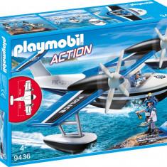 Hidroavionul politiei Playmobil
