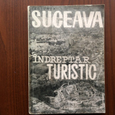 regiunea suceava indreptar turistic carte ghid turism hobby cu harti 1964 RPR