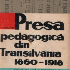 Presa pedagogica din Transilvania 1860 - 1918