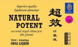 Cumpara ieftin Natural Potent 10ml, 6 fiole, Naturalia Diet