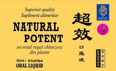 Natural Potent 10ml, 6 fiole, Naturalia Diet foto
