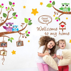 Sticker decorativ copii Noapte buna Rame foto