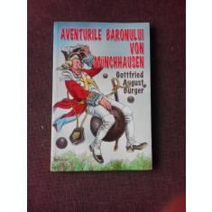 AVENTURILE BARONULUI VON MUNCHHAUSEN - G.A.BURGER